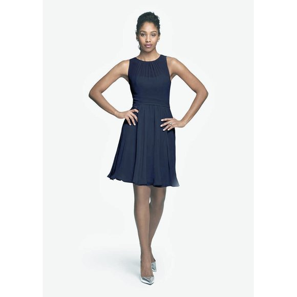David Tutera 526 Dresses & Skirts - Beautiful Formal Dress - Navy
